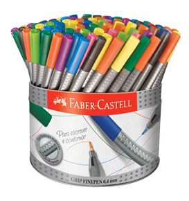 Faber-Castell - Caneta Ponta Porosa Grip Fine Pen 0,4mm Colors