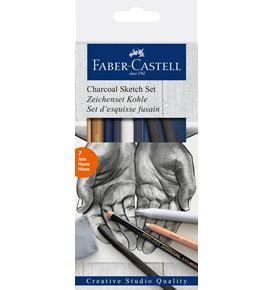 Faber-Castell - Carvão Sketch Set