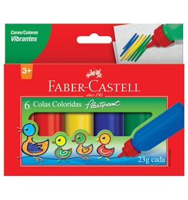 Faber-Castell - Cola Colorida 23g
